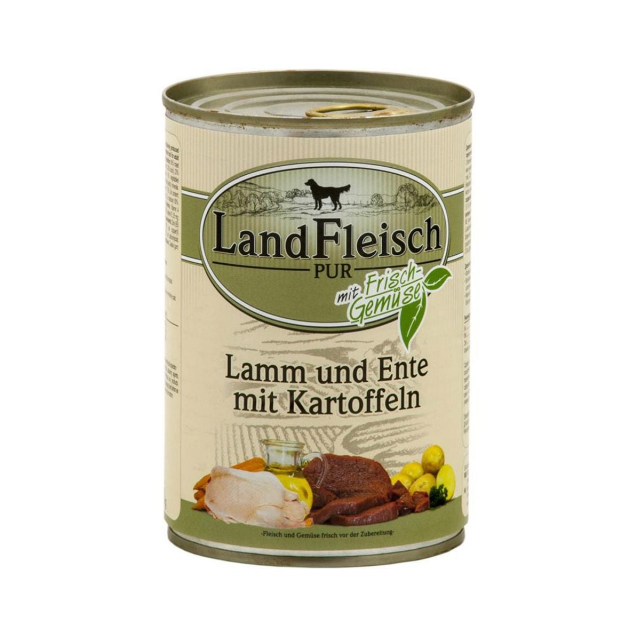 LandFleisch Pur Lamm, Ente und Kartoffel