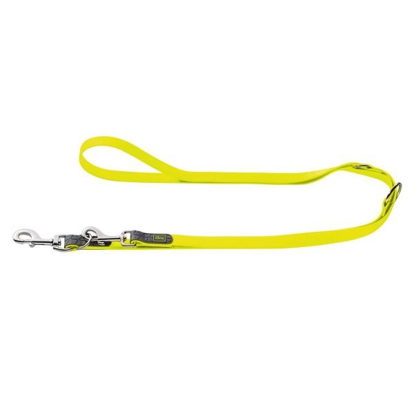Hunter Convenience verstellbare Führleine neon gelb
